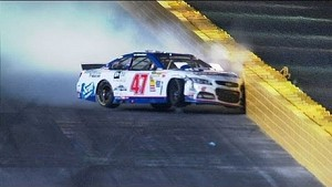 AJ Allmendinger Crashes - All-Star Race - 2014 NASCAR Sprint Cup