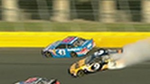 Stenhouse spins Ambrose early in Showdown