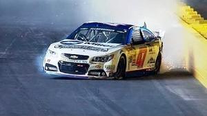 Allmendinger slams wall in All-Star Race