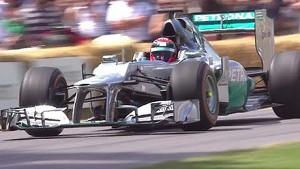 Formula 1 Highlights | Festival of Speed 2014