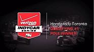 2014 Honda Indy Toronto Qualifying 1 Pole Winner Interview