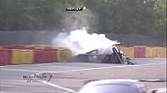 Spa 24h 2014, Karim A Ojjeh's crash at Eau Rouge