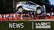 Stages 8-10: Neste Oil Rally Finland 2014