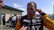 Vicious wreck sends car through armco - 2014 NASCAR Watkins Glen