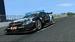 Nürburgring - Virtual Lap with Christian Vietoris in the Mercedes-Benz DTM Beast!