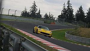 2015 Corvette C7 Z06 testing at the Nürburgring Nordschleife