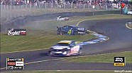 Sandown 2014 Holdsworth Huge Crash V8 Supercars
