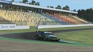 Hockenheim - Virtual Lap with Robert Wickens in the Mercedes-Benz DTM Beast!
