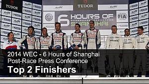 Post-Race Press Conference - FIA WEC Shanghai 2014