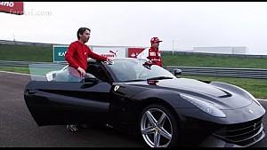 Kimi and the F12berlinetta
