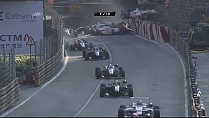 Macau 2014 - Formula 3 - Big Start Crash