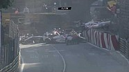 The start crash of the Formula 3 Race at Macau