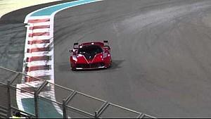 LaFerrari FXX K on track Finali Mondiali Abu Dhabi