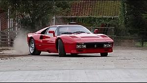The Ferrari 288 GTO - Group B Spec in gymkhana