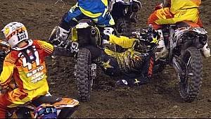 2014 AMA Supercross Crash Compilation.