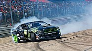 Vaughn Gittin jr drift demo - Loheac RX - FIA World Rallycross Championship