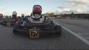 10-year-old Karter suffers brutal flip at Homestead track