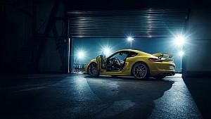 The new Porsche Cayman GT4 – Rebels, race on