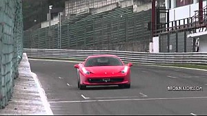 Ferrari Track Day at Spa - Amazing Sound