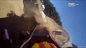 Toyota Racing Series Teretonga 2015 Qualifying Celis Jr Crashes Munro Rolls