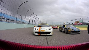 Homestead Ferrari Challenge: one hectic start