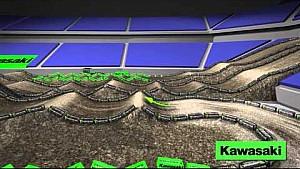 Kawasaki Dynamic Track Map: Detroit - Round 12