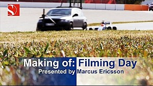 Making of: Track Filming Day - Sauber F1 Team