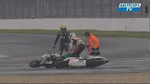 Magny-Cours funny motorcycle wreck