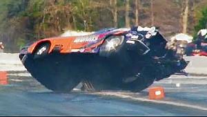 Spectacular Drag Racing Save - Bruce Mullins