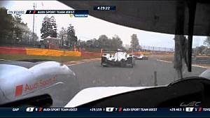 Epic fight between Audi & Porsche - 2015 WEC Spa