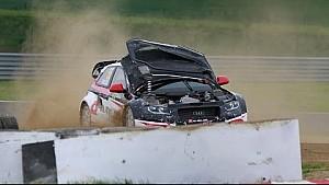 Alx Danielsson Damper Accident: Mettet RX  - FIA World Rallycross Championship