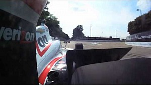 Onboard Will Power's pole lap at Detroit