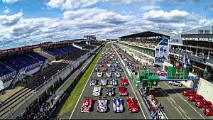 24 Hours of Le Mans 2015 car group photoshoot: the making of