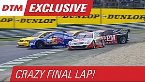 Crazy Final Lap at Spielberg in 2002 - DTM Time Machine