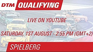 LIVE - DTM Spielberg 2015 - Qualifying (Race 1)