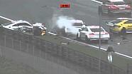 Massive start crash Spielberg 2015 Audi TT Cup
