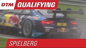 Ekström Races to Pole on Rainy Red Bull Ring - DTM Spielberg 2015