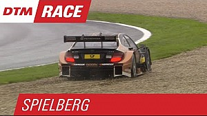 Mercedes Drivers Hit the Gravel - DTM Spielberg 2015