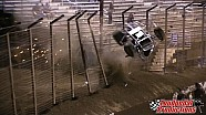 Massive sprint car crash at 360 Oval Nationals