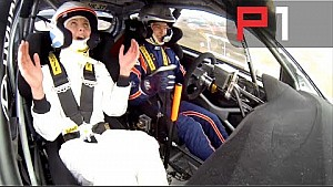 WRC Hyundai i20 ride along