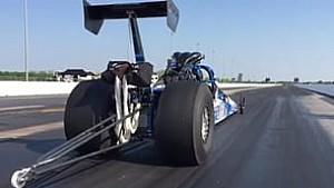 Slo-Mo of Bob Henry Racing Top Dragster
