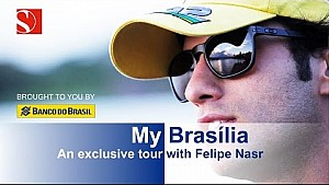 Tour of Brasilia with Felipe Nasr - Sauber F1 Team
