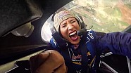 Lolo Jones Freaks Out in an Aerobatic Plane