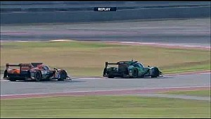 Battle for the LMP2 second place between G-Drive and Tequila Patrón ESM