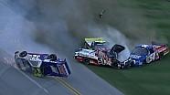 Massive last lap wreck in NASCAR Truck Race - Talladega 2013