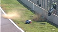 Nasty crash of Gino Rea in World Superbikes