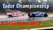 From the grandstand: Petit Le Mans race action